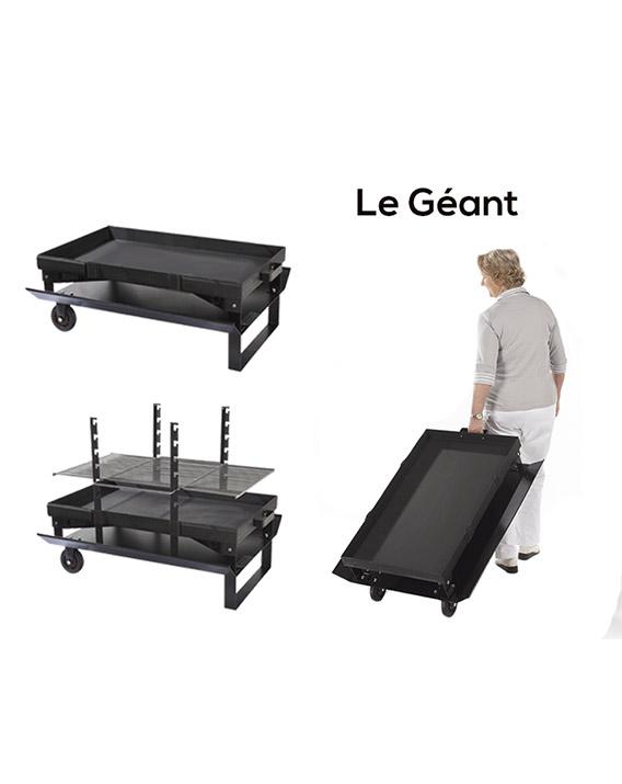 Cheminée Barbecue Modèle Géant - réf FR 100